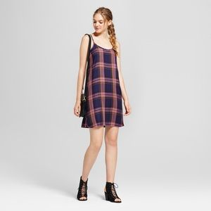 Mossimo Plaid Camisole Shift Dress